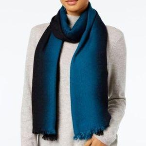 Calvin Klein Oversized Cashmere Modal Scarf/Wrap